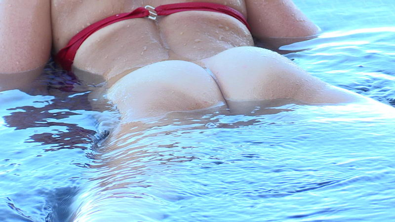 FTV Maricella Having Fun in the Swimming Pool