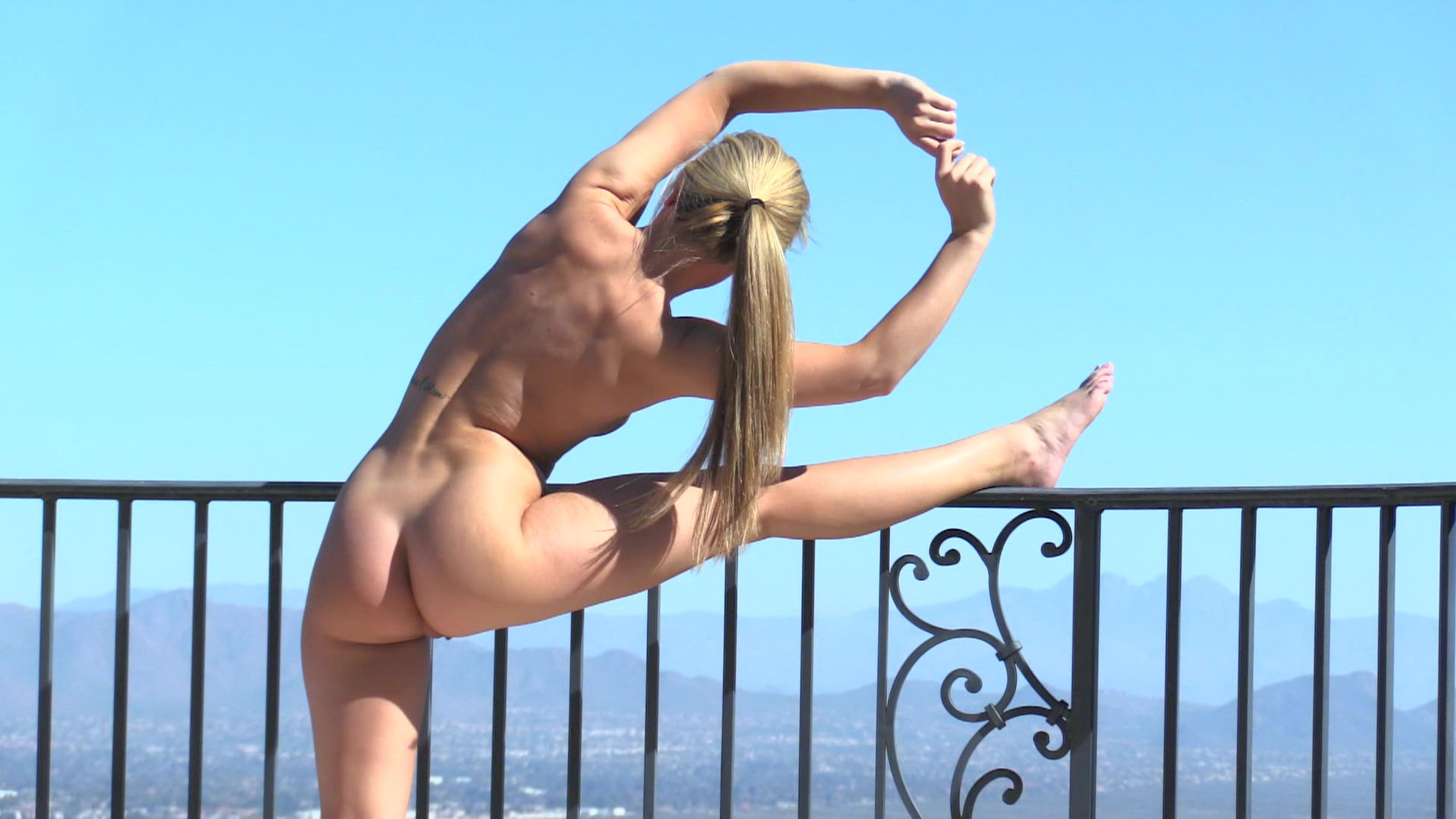 FTV Sydney Stretching on the Roof