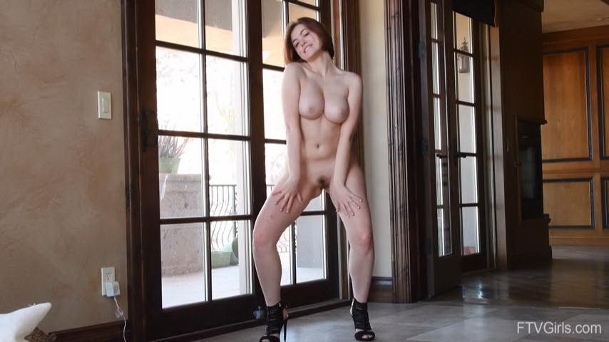 FTV Girls Aria Dancing on High Heels Naked