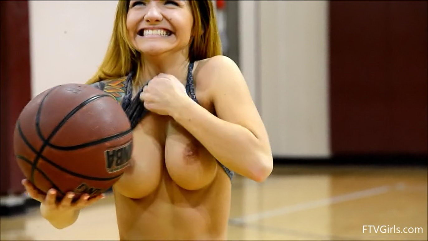 Topless Girl Basketball